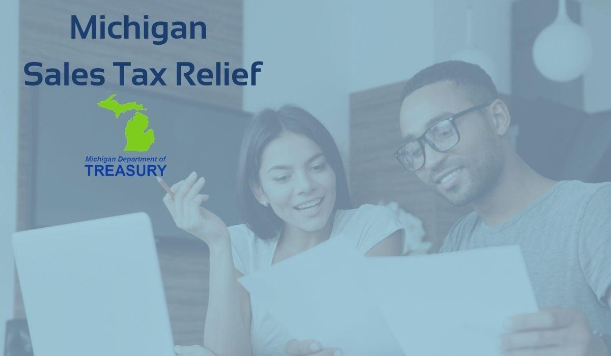 MRPR Blog -  Michigan sales tax relief