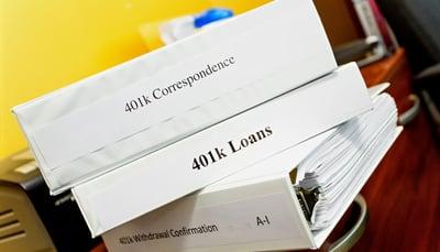 401(k) binders